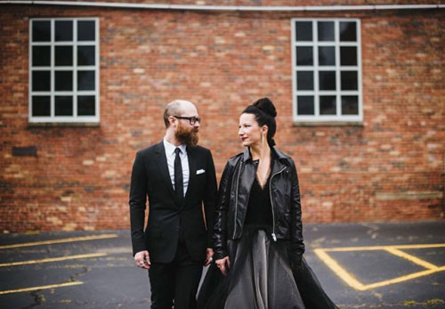 13 Brides Who Totally Killed It in Black Wedding Dresses ...