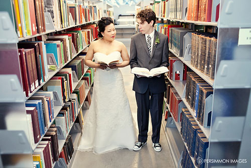 LibraryWedding 11
