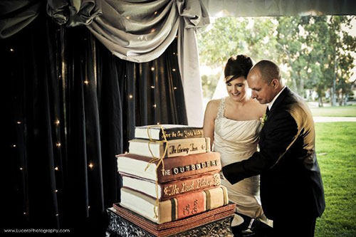 LibraryWedding 4