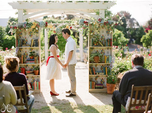 LibraryWedding 9