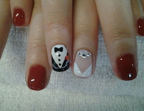 11 Bridal Nail Art Designs So Killer You Can Flaunt Your Ring With