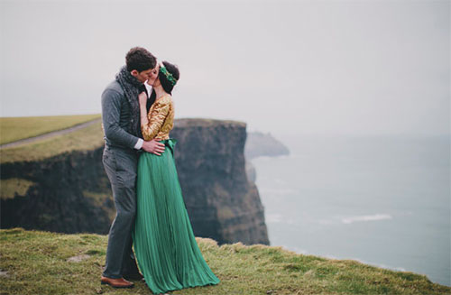 St Patricks Day Wedding Dresses That Are 11 Shades Of Green