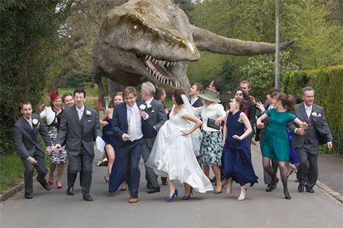 Your Wedding Takes Place In Jurassic Park