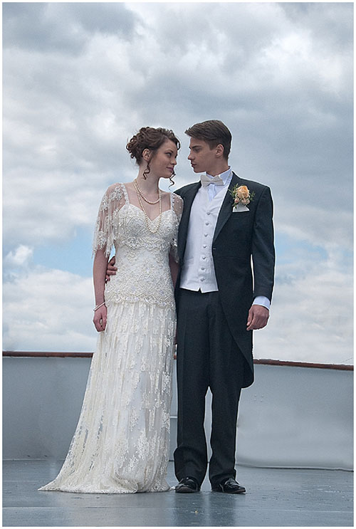 Your Heart Will Go On With A Wedding On A Titanic Replica