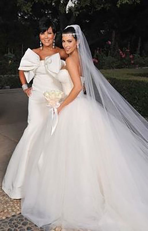 The good the bad the ugly celebrity mother of the for Mother daughter dresses for weddings
