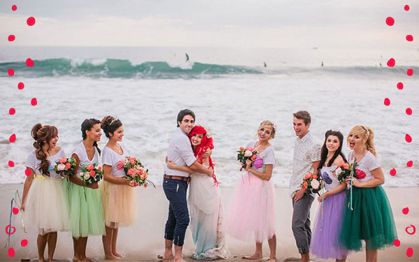 These 11 Couples Are Taking Their Fairy Tale Wedding to a Whole New